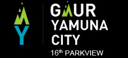 Gaur Yamuna City 16th Park view